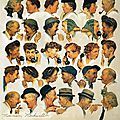 The gossips - Norman Rockwell