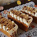 Millefeuille a la michalak ( ganache chocolat blanc et caramel dulce leche)
