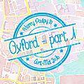 Interlude - <b>Harry</b> <b>Poulpy</b> à Oxford ! Partie 1