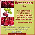 MENSAGEM DO DIA 25 DE <b>ABRIL</b>: BETERRABA