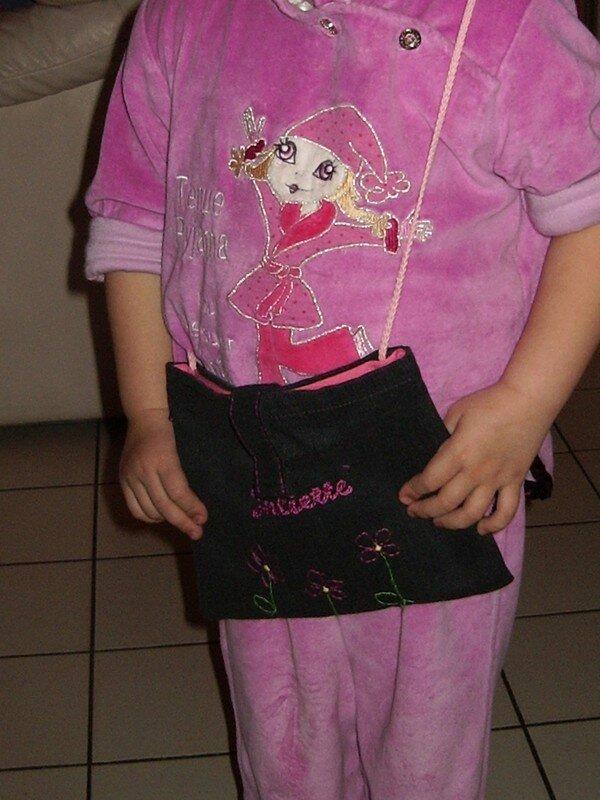 Un petit sac pour Juliette avec une chute de pantalon...