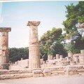 Temple d'Héra à Olympie