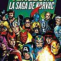Panini Best of Marvel Avengers la saga de Korvac
