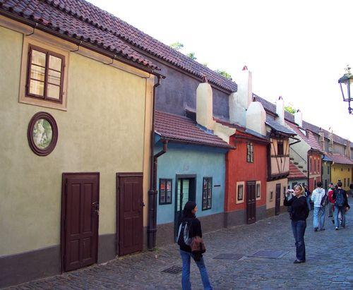 Ruelle d'or, près du château de Prague