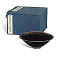 A black glazed tea bowl, Song dynasty (960-1279)