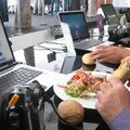 HP in Cannes (Majestic Beach) Lunch of Hugo Mayer (Festival blog)