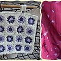 sac cabas violet