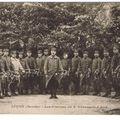 Les clairons du 8e en casernement à Lucon (Vendée) 1