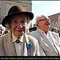 CAEN 1944: disparition de Janine HARDY figure de la Résistance et de la Libération. Qu'une rue caennaise porte enfin son nom!