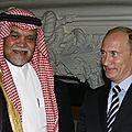 [MANIPULATION PII] Poutine rejette l'offre de l'<b>Arabie</b> <b>Saoudite</b> de laisser tomber Assad en échange d'un gros contrat d'armement