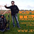 Distributeur france nord, paris, et belgique des paramoteurs kangook, hélices e-props et ailes itv