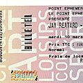 Jay Reatard - Mardi 10 Mars 2009 - <b>Point</b> <b>Ephémère</b> (Paris)