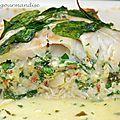 Rôti de poisson à la feta et tomates séchées