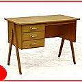 Bureau vintage <b>années</b> <b>1970</b>