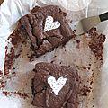Fondant au chocolat (sans beurre et sans farine)