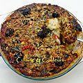 Cuisine des restes : parmentier-ratatatouille gratiné
