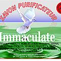 Savon purificateur immaculate.