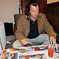 Les peintures et encres de Bruno Danjoux