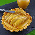 Tartelettes aux poires et caramel beurre salé