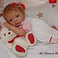 n5 petite poupée reborn rousse