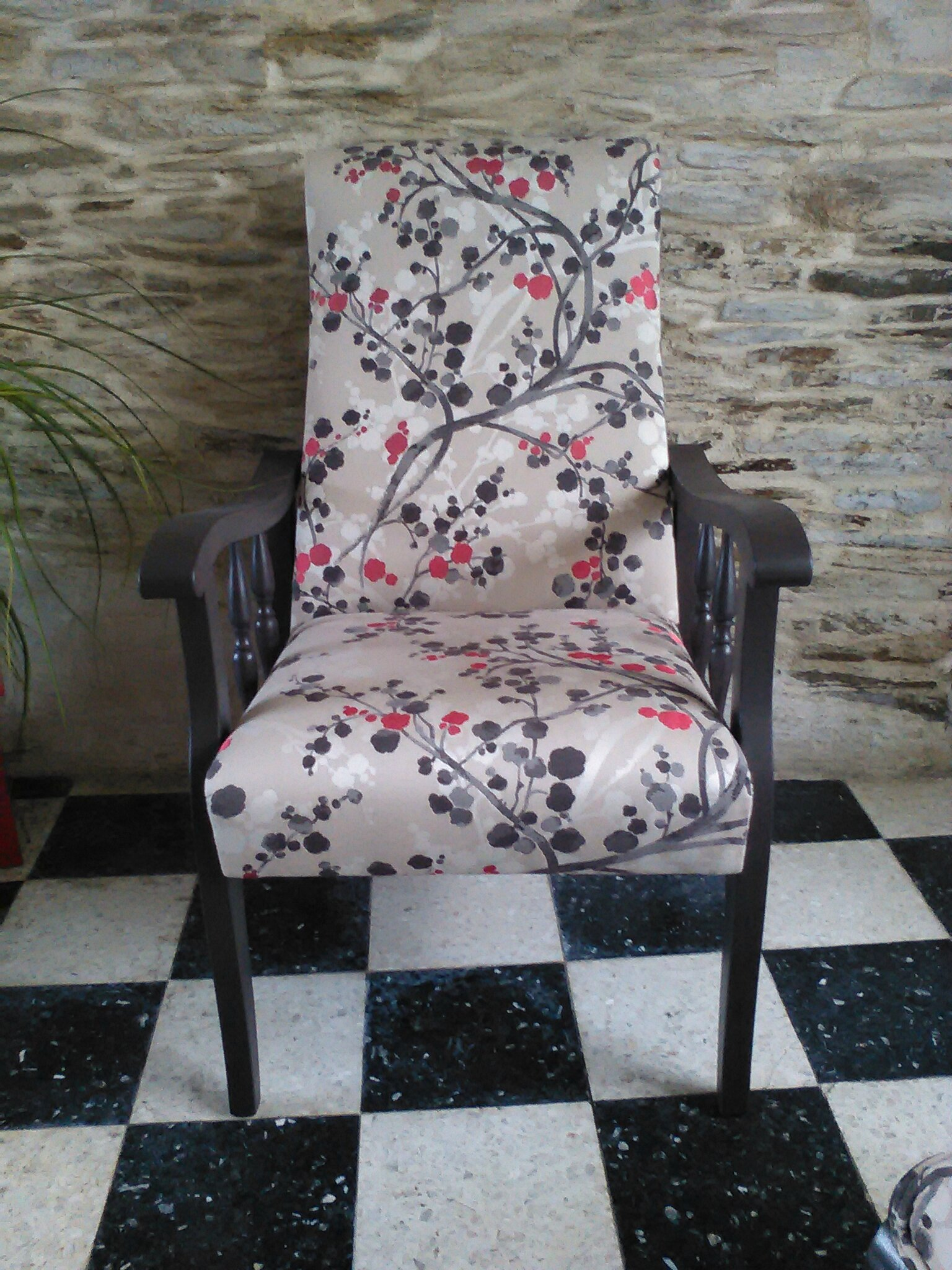 fauteuil rustique