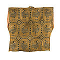 An exceptional silk Samite shirt with ducks, Central Asia, <b>Sogdiana</b>, 7th-9th century