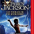 Percy Jackson, Le <b>voleur</b> de <b>foudre</b>, de Rick Riordan (livre audio)