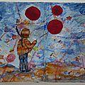 Challenge art journal et gribouillages #le vent