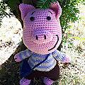 Kenny <b>Pig</b> part en voyage