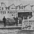Il y a 50 ans ouvrait Auchan Roncq et les syndicats découvraient la <b>grande</b> <b>distribution</b>