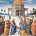 <b>Perugino</b>: La consegna delle chiavi