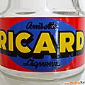 Objet Pub ... Carafe RICARD * Ancien logo