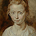 Christie's to offer 'portrait of the artist's daughter, clara serena' by peter paul rubens
