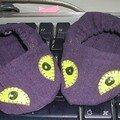 Des minis chaussons à yeux