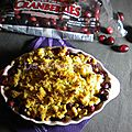 Crumble de noël aux pommes et aux cranberries