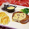 Tournedos au foie gras & au calvados