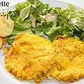 Omelette aux chips