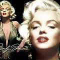 Wallpaper Frank Powolny (6) - Golden Marilyn
