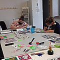 Retour d'atelier : lundi 11/10/2021, <b>diamond</b> painting avec Cathy
