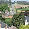 Catillon vu du haut du clocher de l'Eglise 17 août 2011 à 11h30