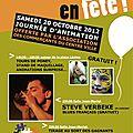 20 octobre 2012 - <b>Apéro</b>-<b>concert</b> tirage au sort