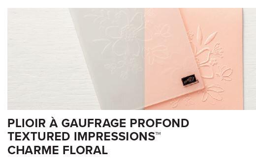 plioir de gauffrage charme floral