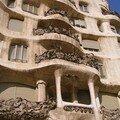 Casa Mila - Balcon weirdos