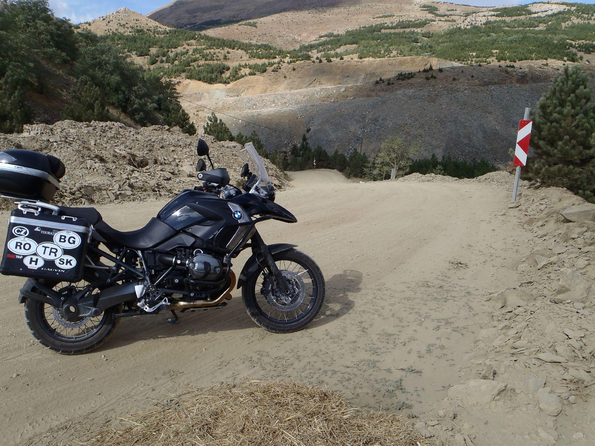 turquie piste de 10 km deviation chantier