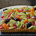 Tarte aux fruits d 'ete
