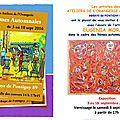 Exposition du 3 au 20 septembre 2016 - pontigny 89230