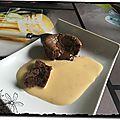 Coulant chocolat au thermomix