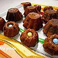 Charlottes au chocolat caramel