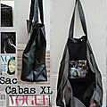 Sac Cabas XL 'Vogue'