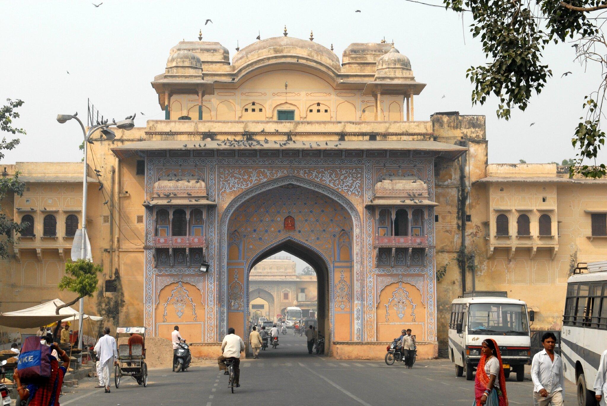 porte de tripolia a Jaipur